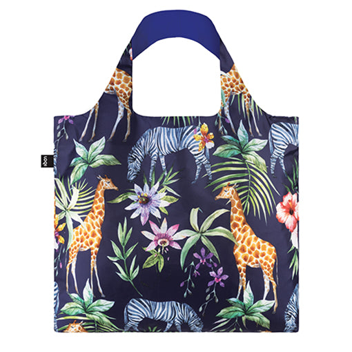 Loqi Shopping Bag - Zebras