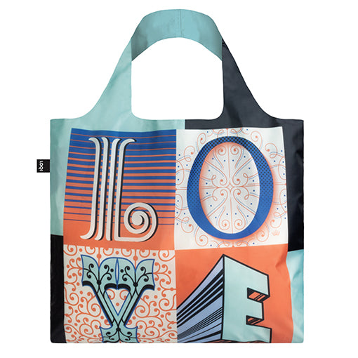 Loqi Shopping Bag - Love