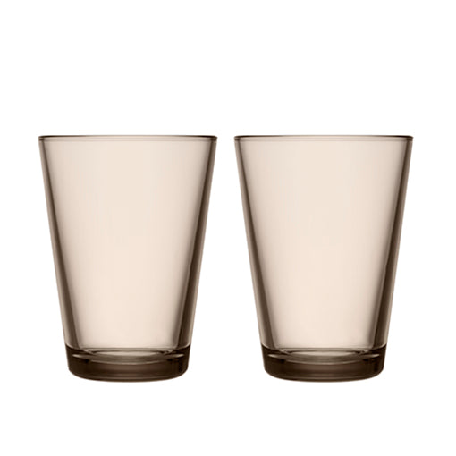 iittala Kartio Highball Set of 2 Linen