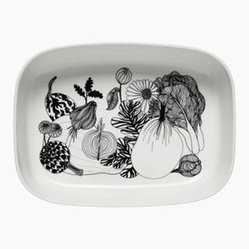Marimekko Serving Dish Rectangle Siirtolapuutarha