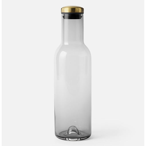 Menu Carafe Bottle Smoke and Brass