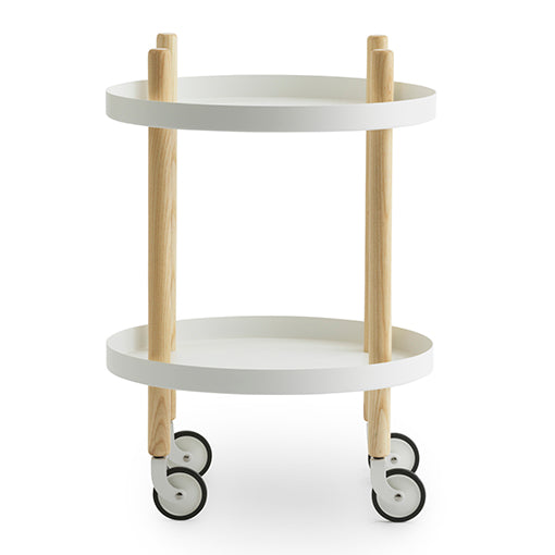 Normann Copenhagen Block Table Round White