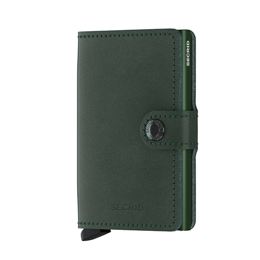 Secrid Miniwallet Original Green Leather