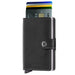 Secrid Miniwallet Original Black Leather