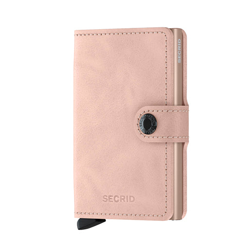 Secrid Miniwallet Vintage Rose Leather