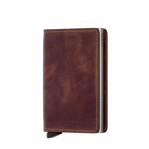 Secrid Slimwallet Vintage Brown Leather