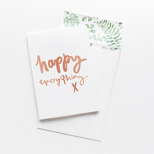emma kate co Card - Happy Everything