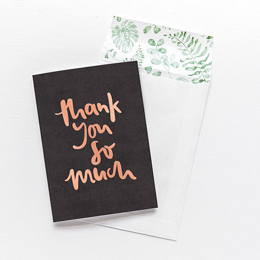emma kate co Card - Thank You So Much