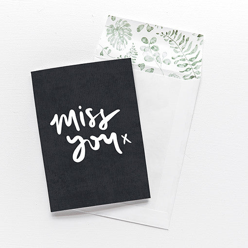 emma kate co Card - Miss You