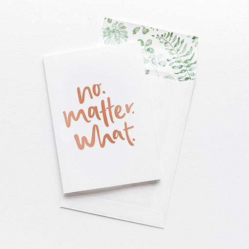 emma kate co Card - No Matter What