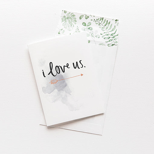 emma kate co Card - I Love Us