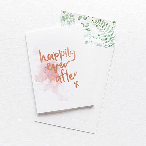 emma kate co Card - Happily Ever After