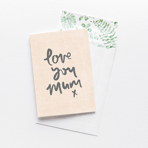 emma kate co Card - Love You, Mum