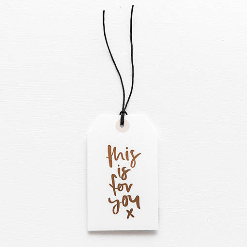 emma kate co Gift Tag - This Is For You