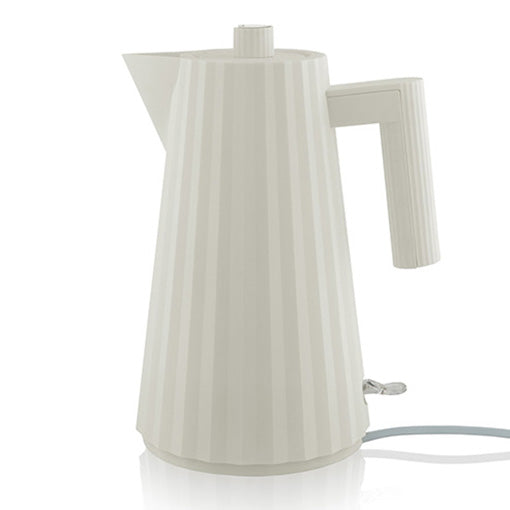 Alessi Plisse Electric Kettle White