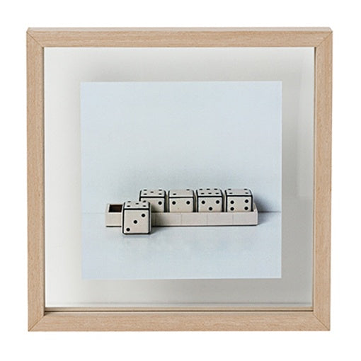 Papaya Theo Square Frame Natural Large 30cm
