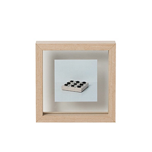 Papaya Theo Square Frame Natural Small 19cm