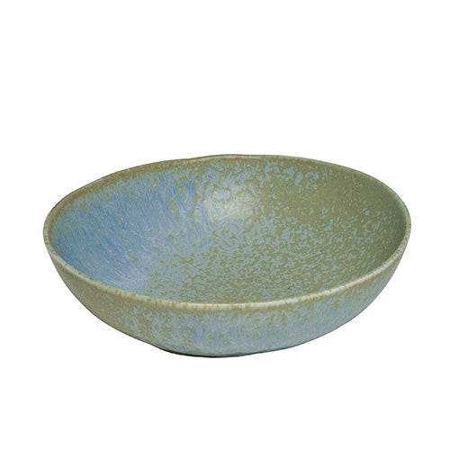 Concept Japan Wabisabi Oval Bowl 20cm Blue/Grey