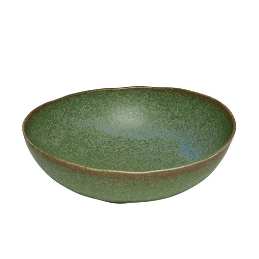 Concept Japan Wabisabi Oval Bowl 20cm Green