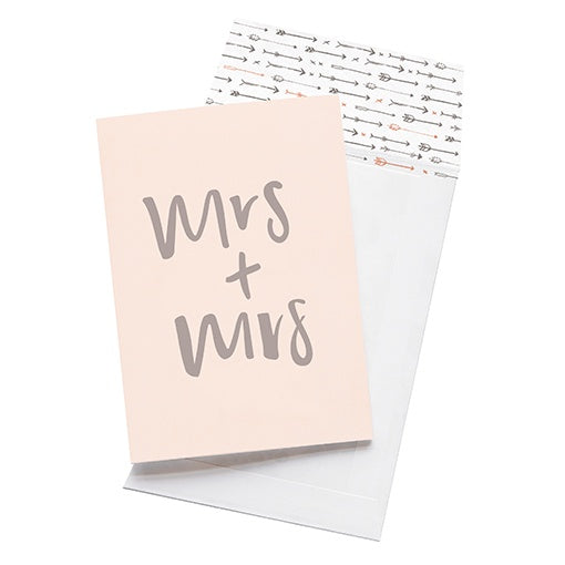 emma kate co Card - Mrs & Mrs
