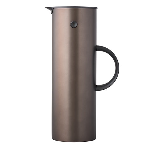 Stelton EM77 Vacuum Jug Metallic Dark Brown