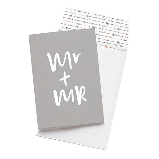 emma kate co Card - Mr & Mr