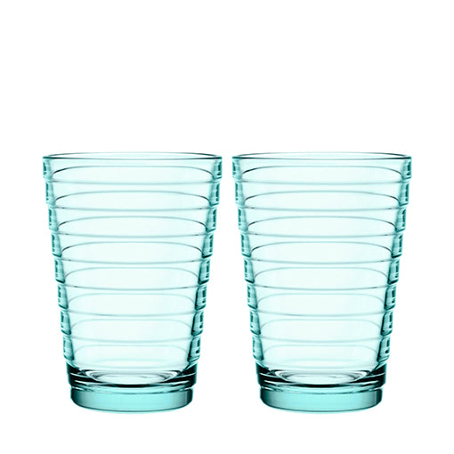 iittala Aino Aalto Highball Pair Water Green