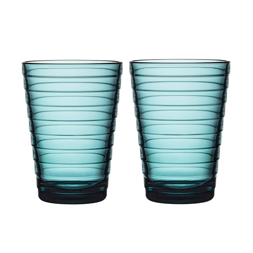 iittala Aino Aalto Highball Pair Sea Blue