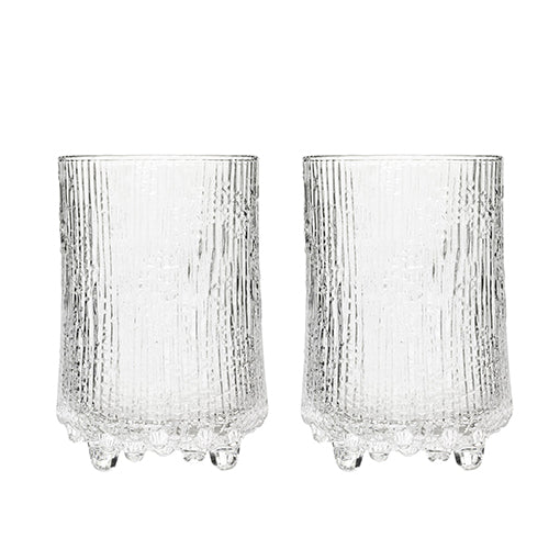iittala Ultima High Ball 380ml Set of 2 Clear