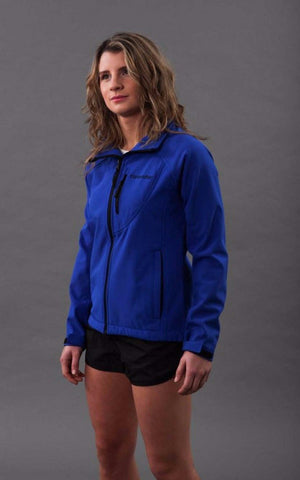 Softshell Womens Rain Jacket - Blue