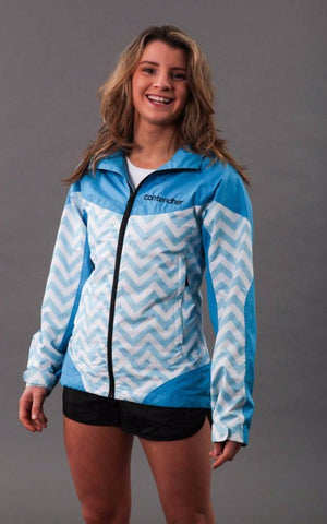 Stormchaser Womens Rain Jacket - Blue
