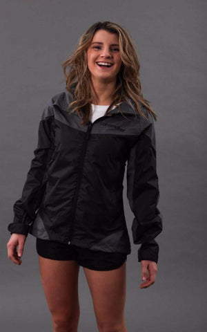 Stormchaser Womens Rain Jacket - Black