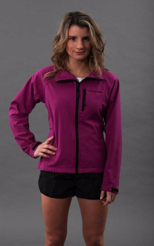 Softshell Womens Rain Jacket - Pink