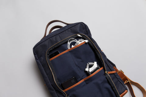 4 Pockets in Front Zipper Compartment - Modern Day Briefcase
