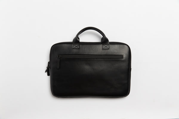 Waterproof Leather Laptop Bag