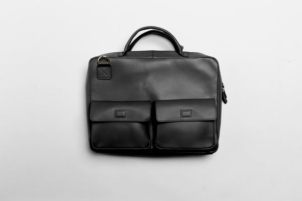 Waterproof Leather Satchel