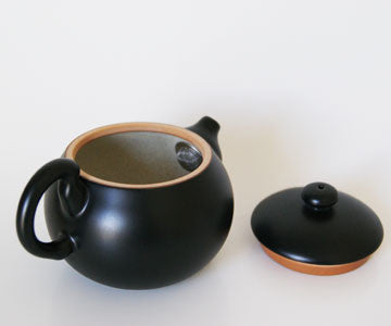 Teapot - Lin's Ceramics Black Large Prosperity Teapot