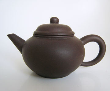 Teapot - Zi Sha Dark Purple Clay Standard Teapot