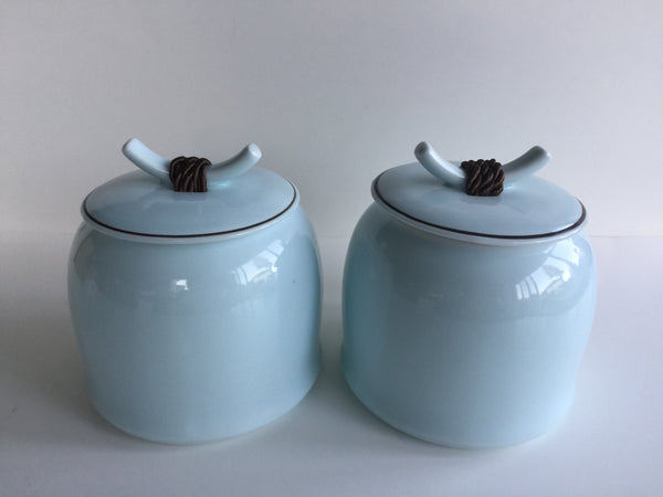 Tea Caddy - Ju Tea Caddies Pair 500g