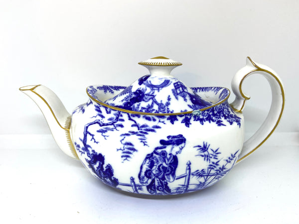 Copy of Antique Royal Crown Derby Mikado Teapot 1930