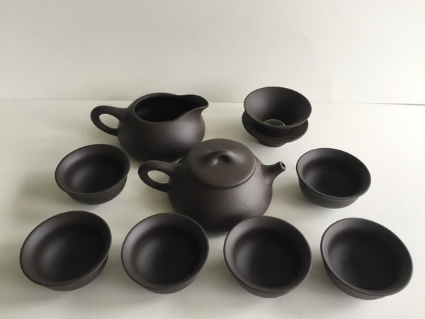 Teaset - Zisha Purple Clay Chinese 10 pcs Teaset