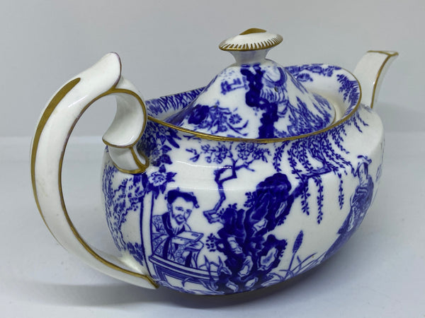 Antique Royal Crown Derby Mikado Teapot 1930