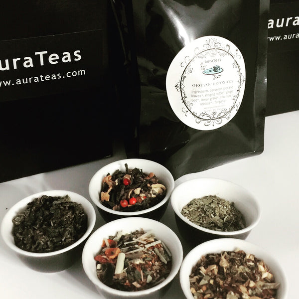 auraTeas Rejuvenation Collection