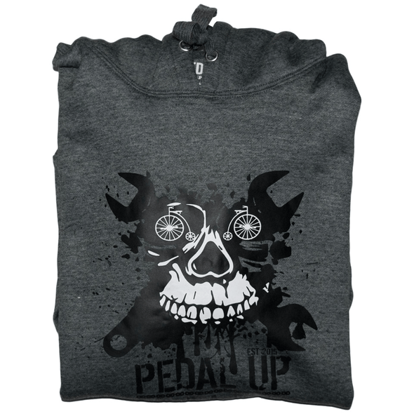 Cycling Addiction Hoodie - Pedal Up Apparel