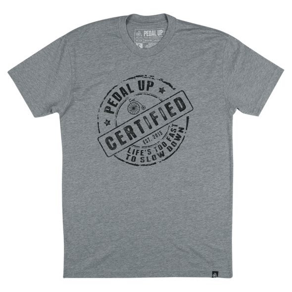 Endo Certified T-shirt - Pedal Up Apparel