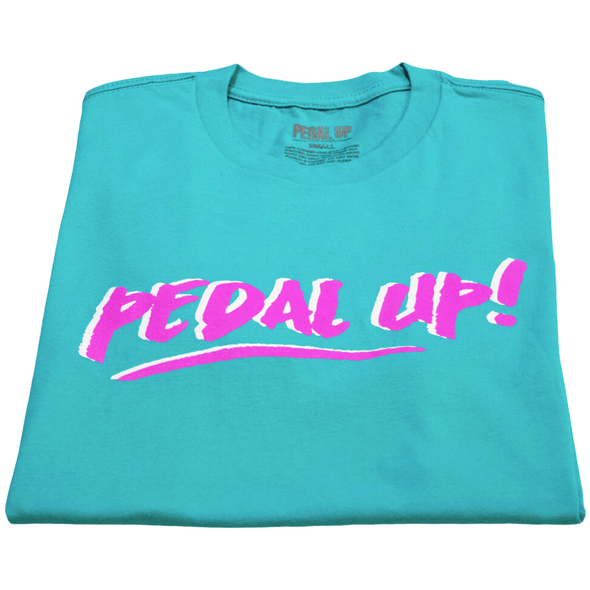 Retro Vibe T-shirt - Pedal Up Apparel