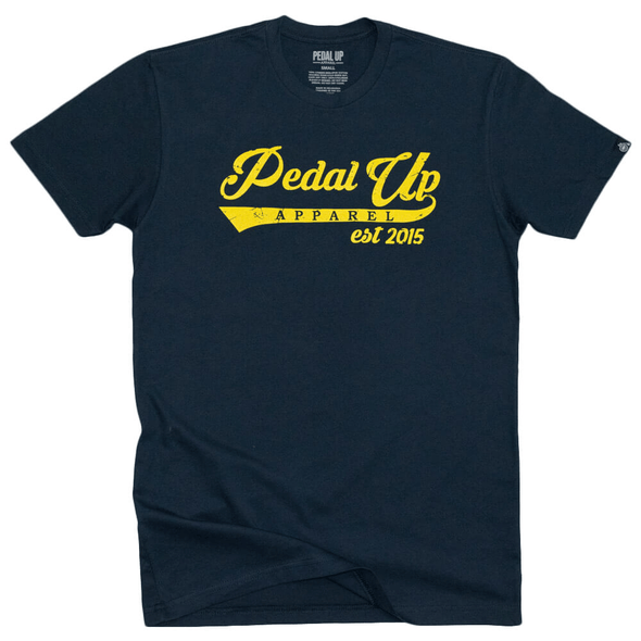 Script T-shirt - Pedal Up Apparel