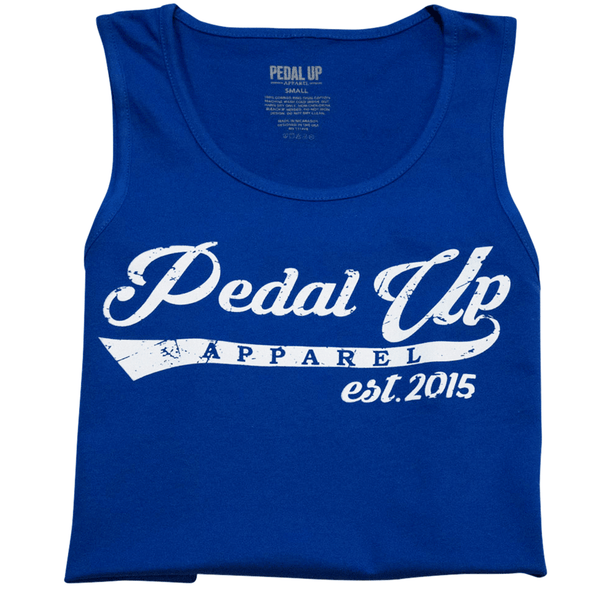 Script Tank Top - Pedal Up Apparel
