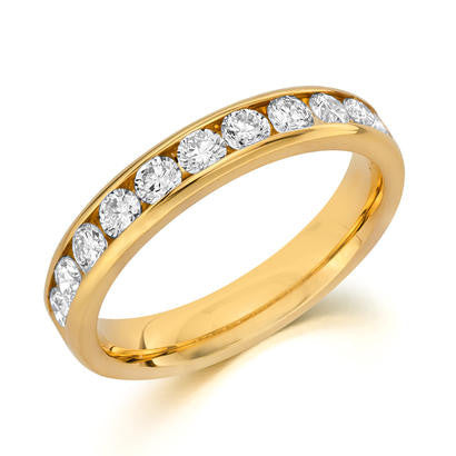 14k Yellow Gold Anniversary Band 510100341