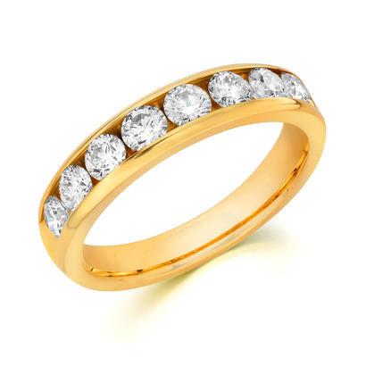 14k Yellow Gold Anniversary Band 510100441